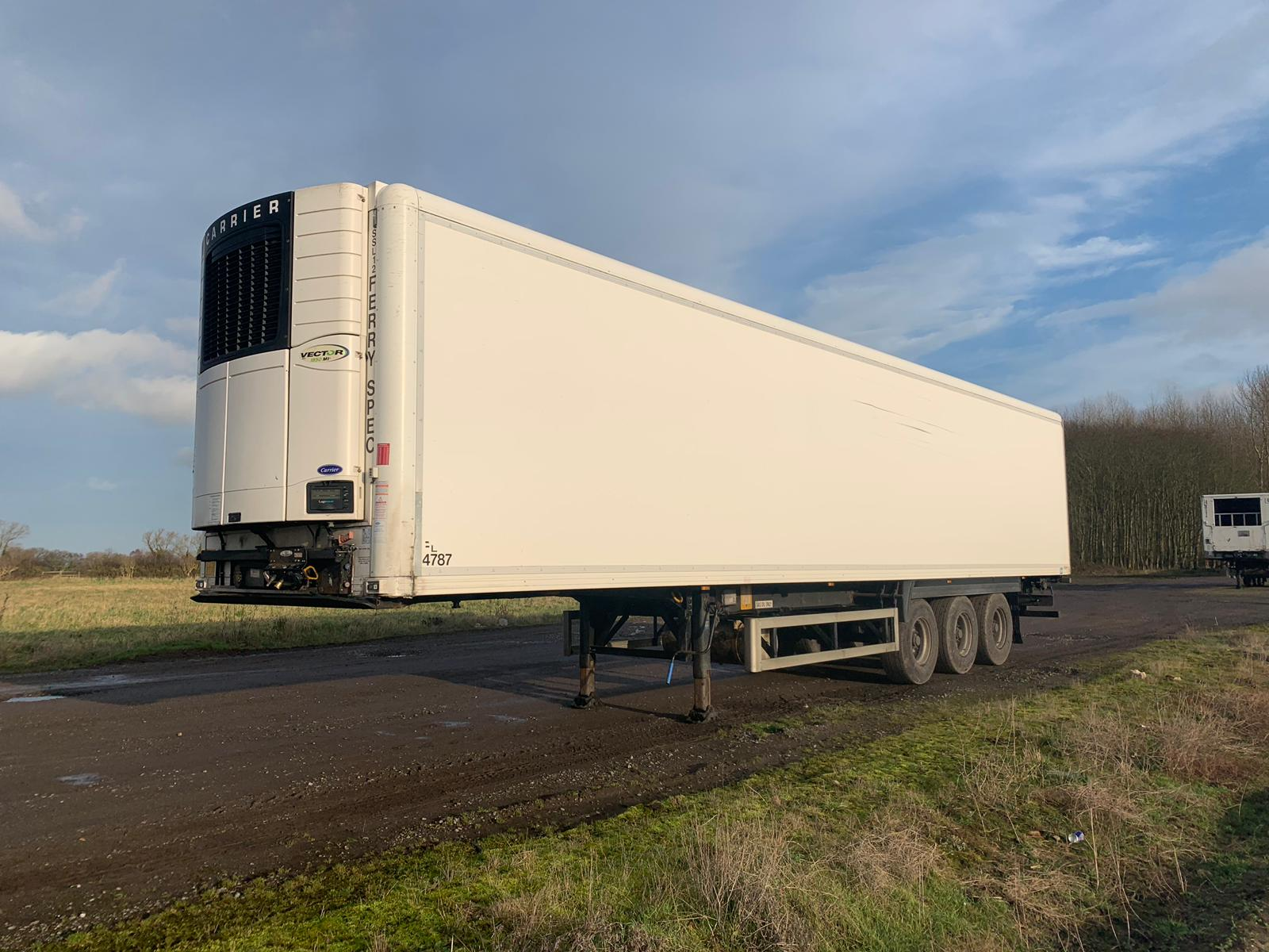2013 G&A 13.6m Refrigerated Trailer – Vector 1950MT